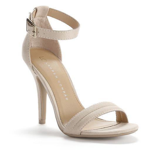 LC Lauren Conrad Party Womens High Heel Sandals   Lauren