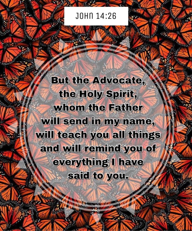 But the Advocate, the Holy Spirit, whom the Father will ...