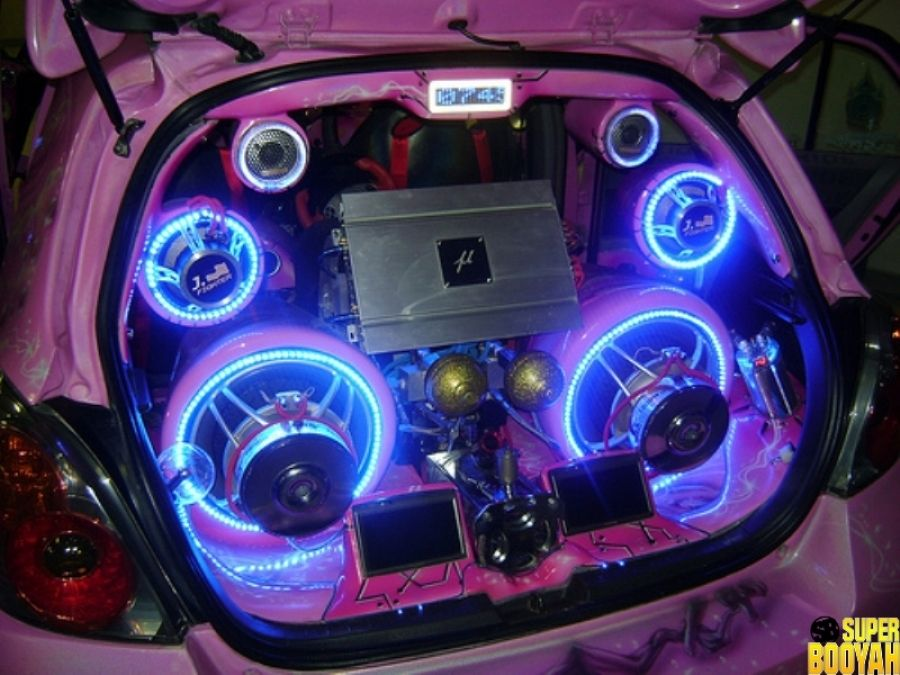 Car Audio Systems >> 25 Pictures Of Cars With Badass Sound Systems Car Audio Car