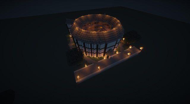 Minecraft Server: http://www.minetexas.com/ Globe Theatre Wonder ...