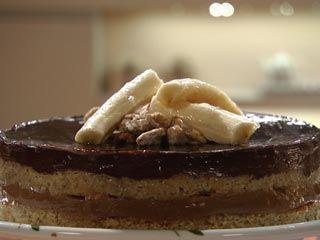 Torta banana Split   Recetas  