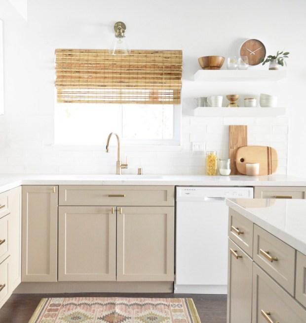 15 Beautiful Taupe Paint Colors Beautiful Kitchen Cabinets Listrumahsakit Com