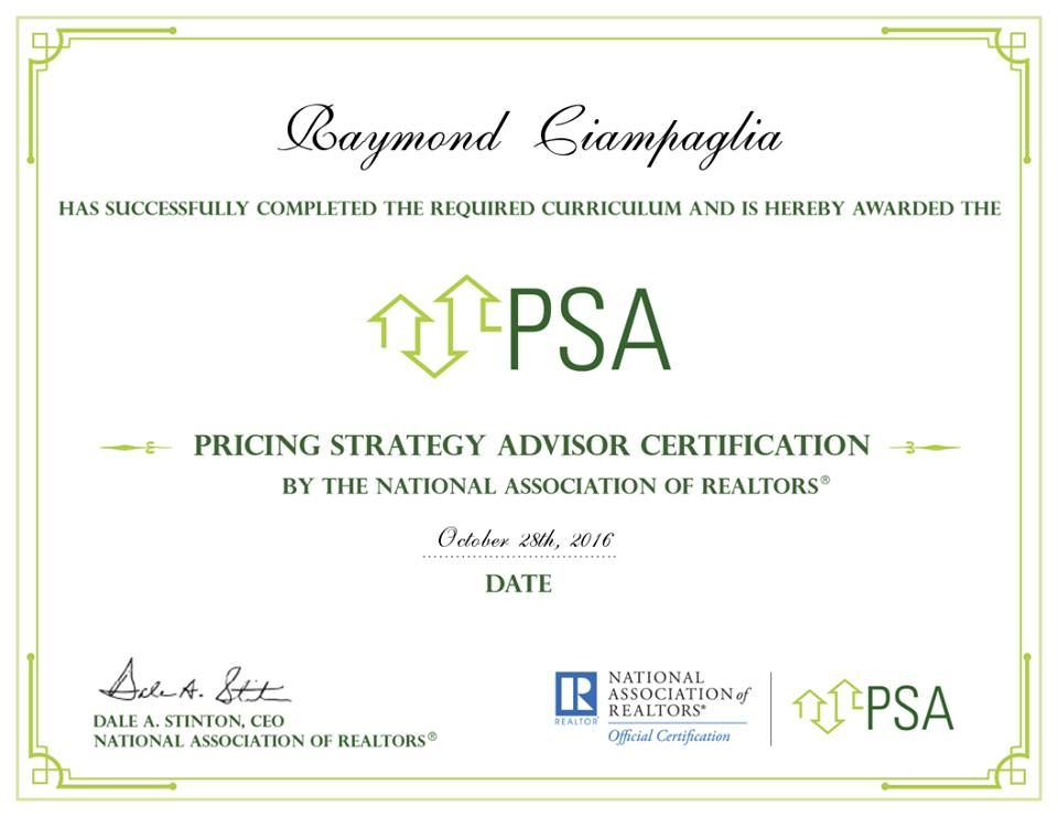 My Official Psa Certificate Take The Guesswork Out Of Pricing