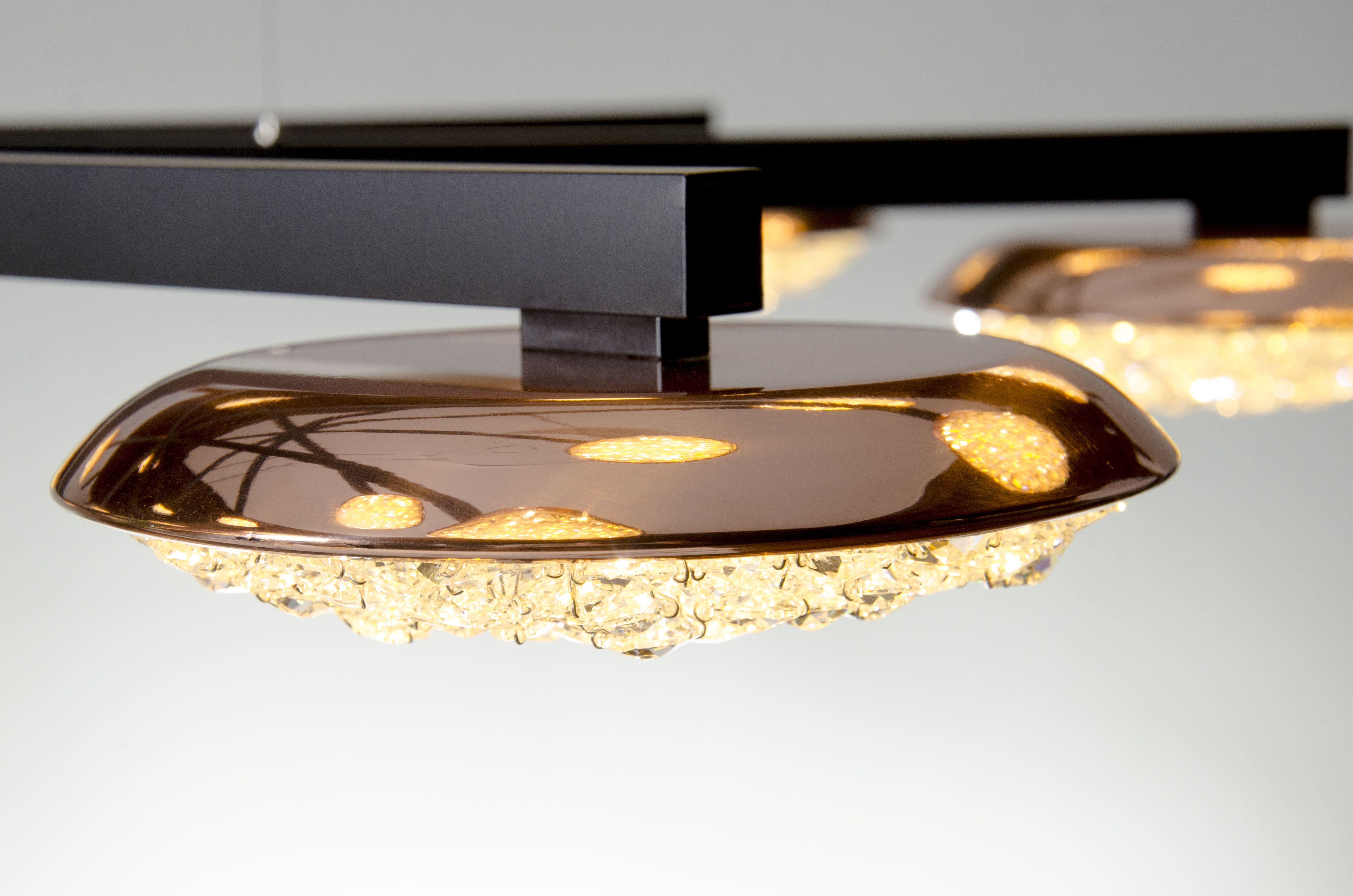 Origo Star Crystal Chandelier  www.manooi.com #Manooi #Chandelier #CrystalChandelier #Design #Lighting #OrigoStar #luxury #furniture #interior #homedecor #LED #Swarovski
