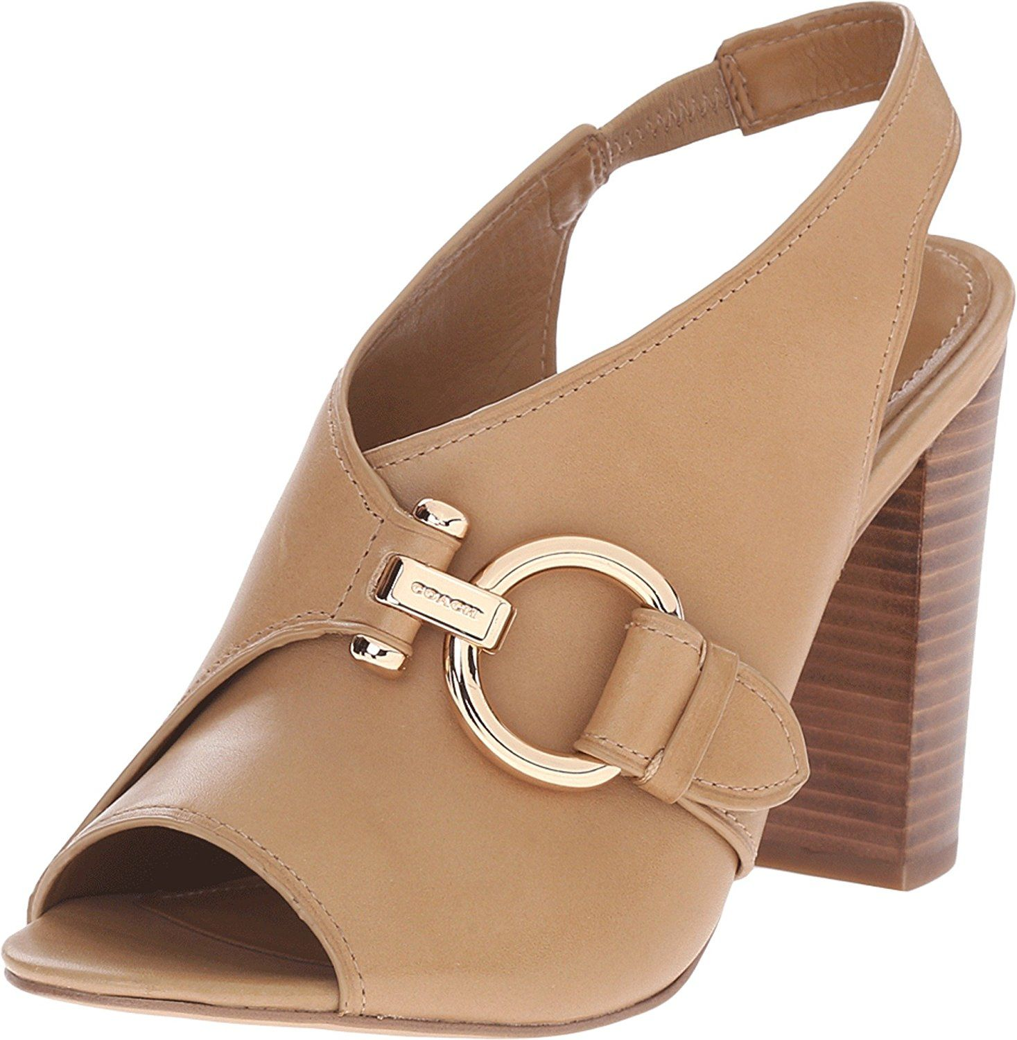 Womens Sandals COACH Sherry Nude