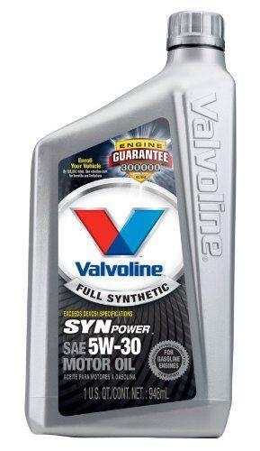 Best Buy Valvoline Synpower Full Synthetic Motor Oil Sae 5w 30 1 Quart Case Of 6 Castrol Oil Oil Bottle Crude Oil