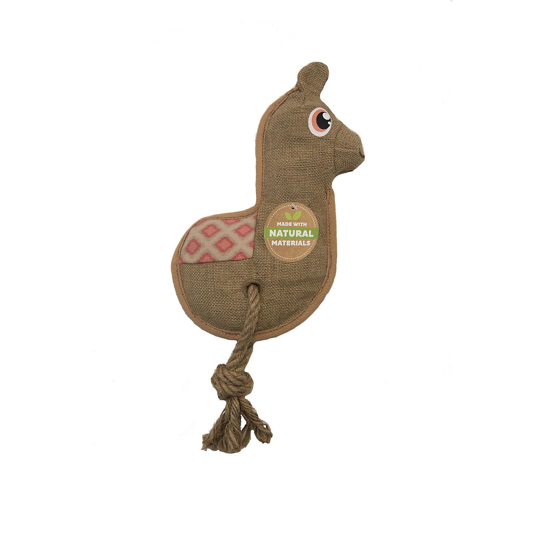 Outward Hound Naturalz Hemp Llama Dog Toy Large Dog Toys Pet
