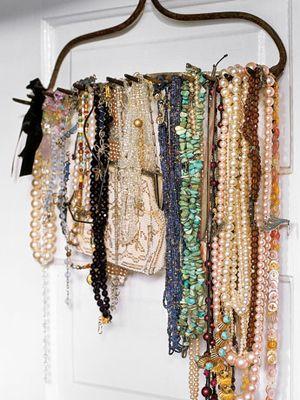 32 Ways To Add Sneaky Storage Creative Jewelry Rake Holder Jewellery Display