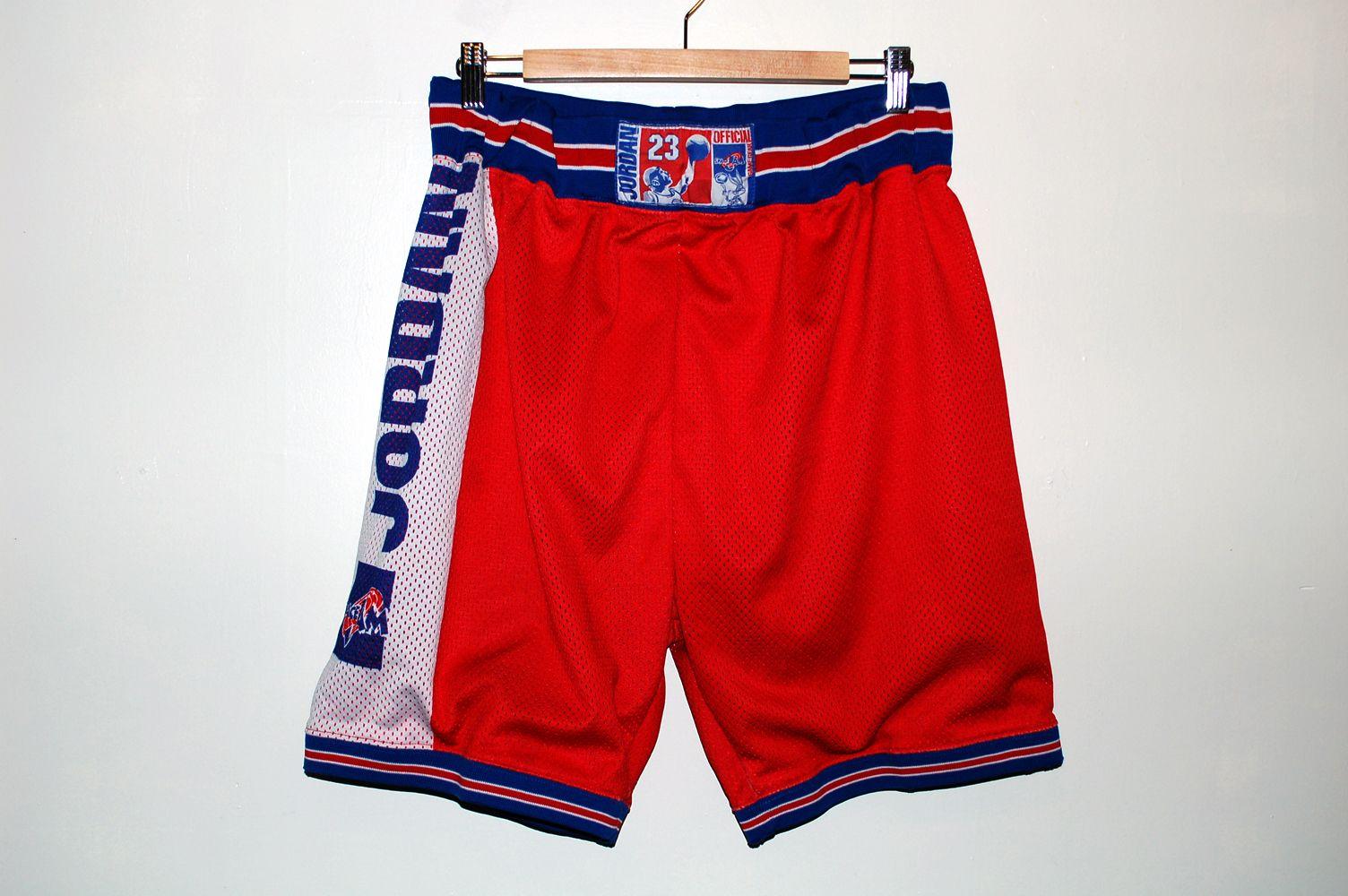 90s Space Jam x Jordan Basketball shorts