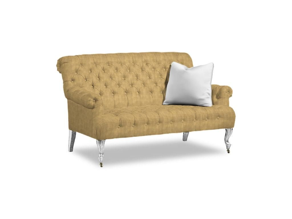 Shop For Caracole Tuft Luck, UPH SETTEE 02, And Other Living Room Settees  At Woodbridge Interiors In San Diego, CA. Standard Finishes Available.