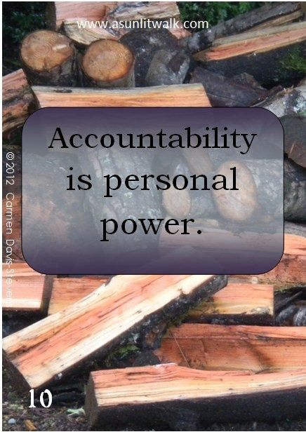 10 Personal Power Personal Power Accountability Quotes Accounting