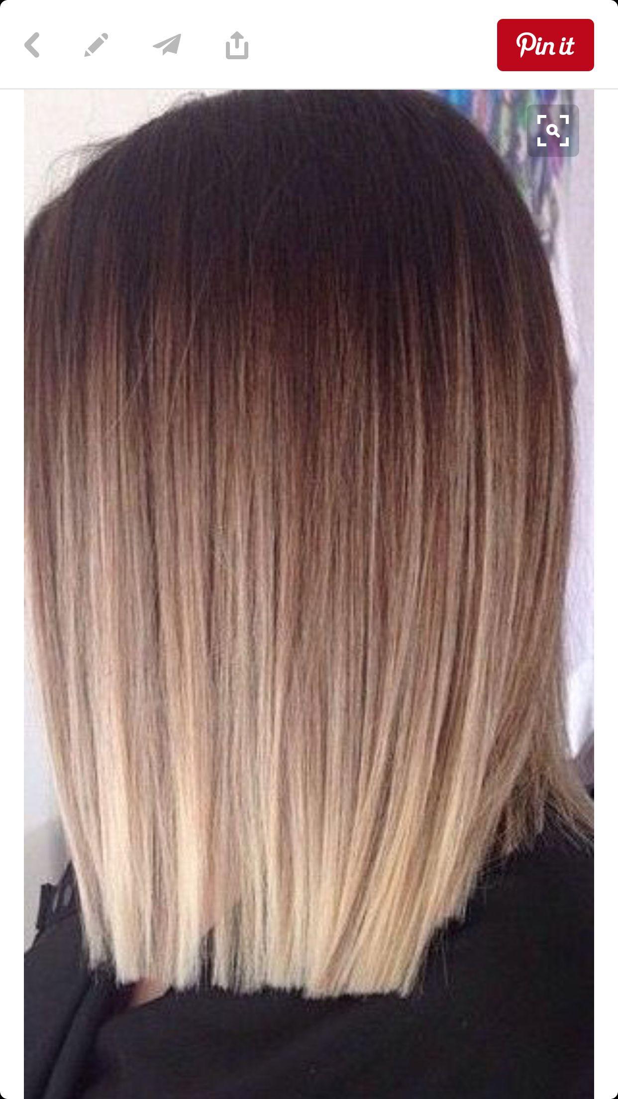 Proste Cięcie Ostre Końcówki Pomysł Na Piękne Włosy W