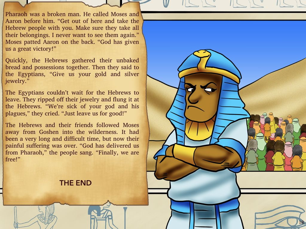 moses bible story escape from egypt bible stories