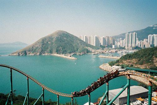 roller coaster views
