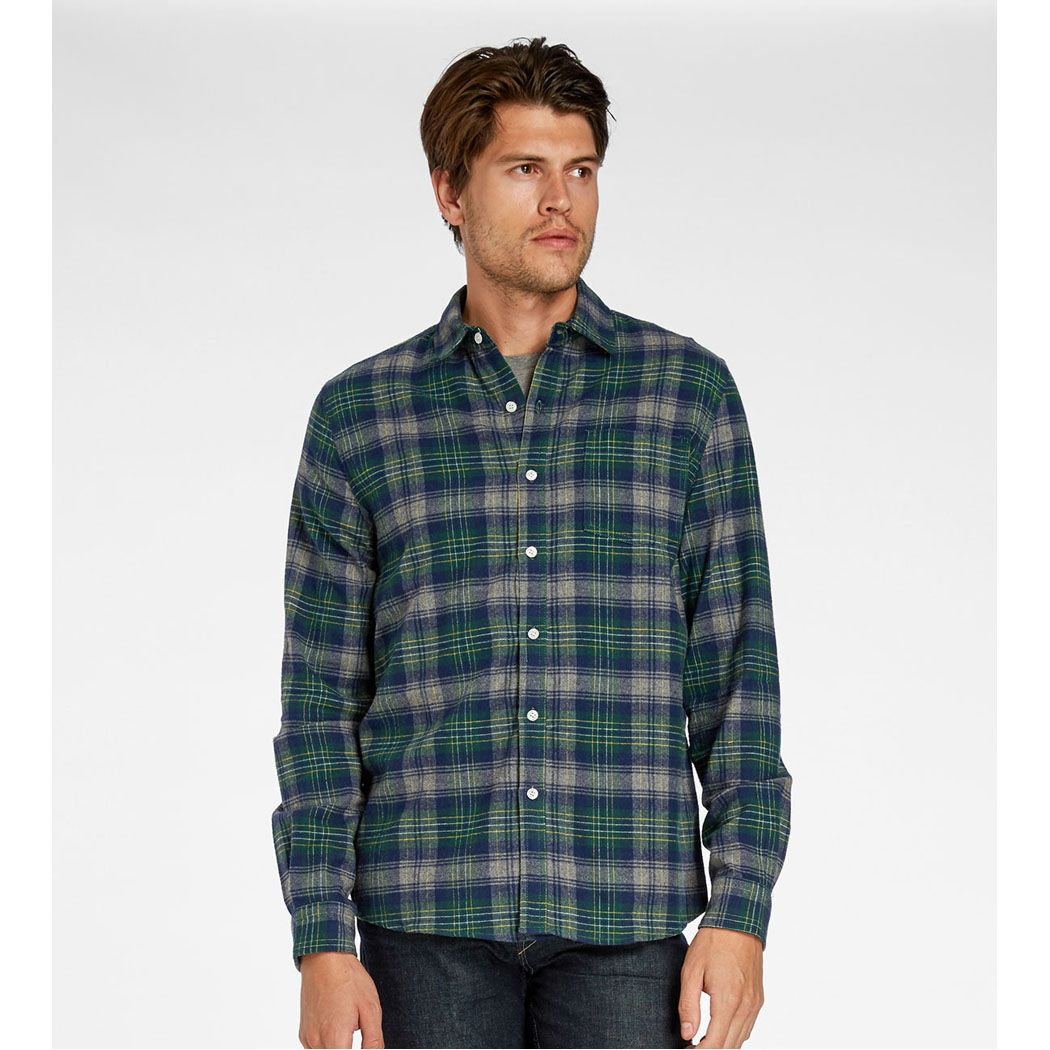 Flannel shirts and shorts  One Pocket Flannel Shirt for Men  Our favorite gifts for everyone