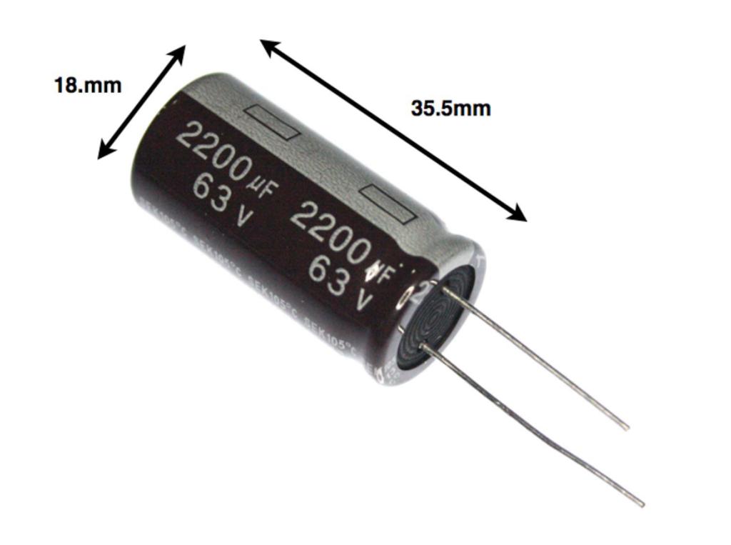 10x Electrolytic Capacitor 680uf 6.3v 105°C Circuits