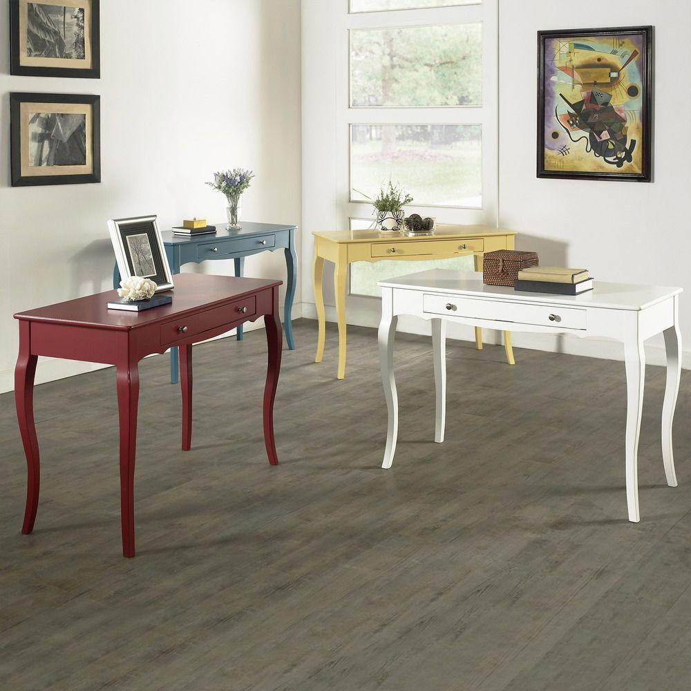 INSPIRE Q Shemar 1-drawer Flared Legs Office Desk by iNSPIRE Q