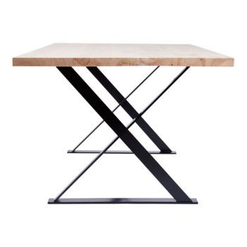 Alexandria Industrial Dining Table Black Chairs Dining Table