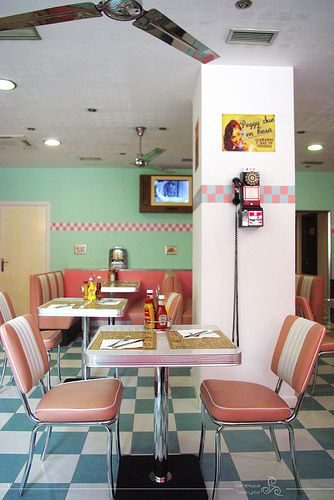 Peggy Sue American Diner Vintage Diner Diner Decor Retro Diner