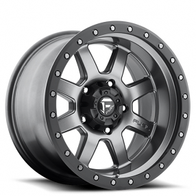 17 Fuel Wheels D552 Trophy Matte Grey With Black Ring Rims Fuel Wheels Wheels And Tires Off Road Wheels