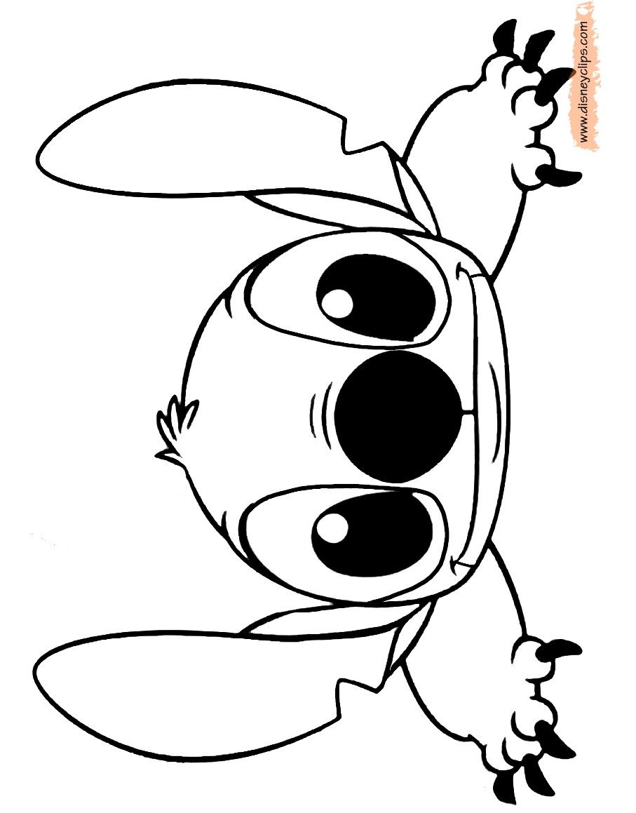 Cute Stitch Coloring Pages crafts Stitch coloring