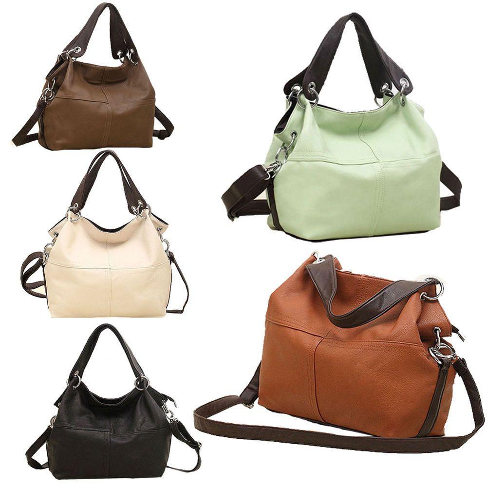 Women Leather Handbag Versatile Shoulder Bags Messenger Soft Zipper Fashion  RL  WomenLeather  MessengerCrossBody 69604d8a4f2f8