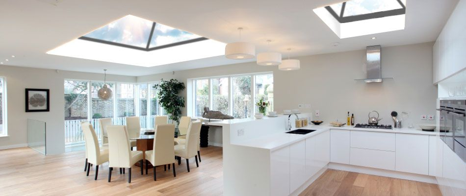 Kitchen Skylights Moen Faucet Repair 20 Beautiful Designs With Home Is Where The Uk Glass Rooflights Flat Roof Lanterns