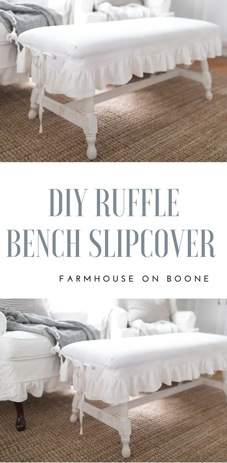 DIY Decor: Simple Slipcovers