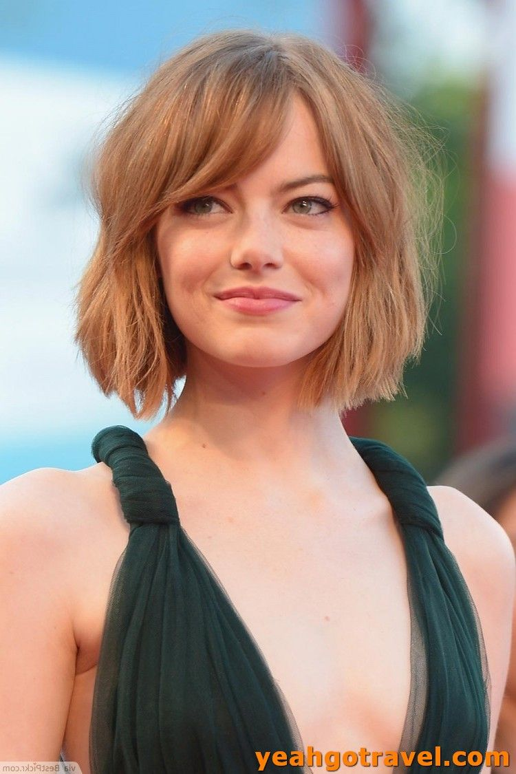 36 Cute Short Hair With Bangs That Youll Want To Get - Yeahgotravel.com