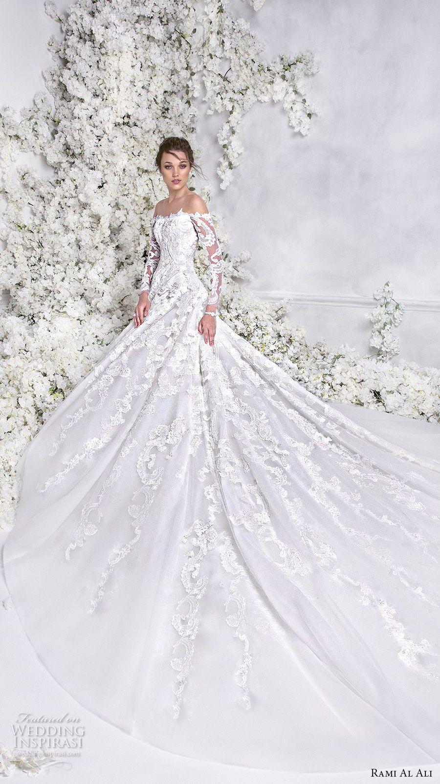 Rami Al Ali 2018 Wedding Dresses   Hochzeitskleider, Brautkleider ...