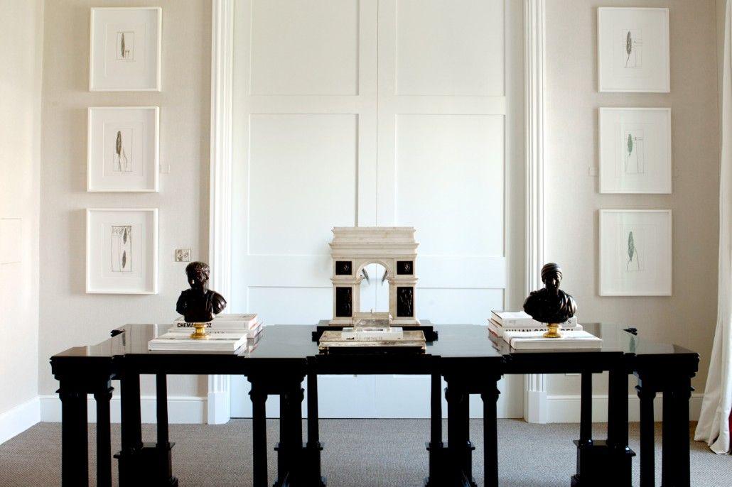 Project 3 - Luis Bustamante georgian inspiration Pinterest - interieur design studio luis bustamente