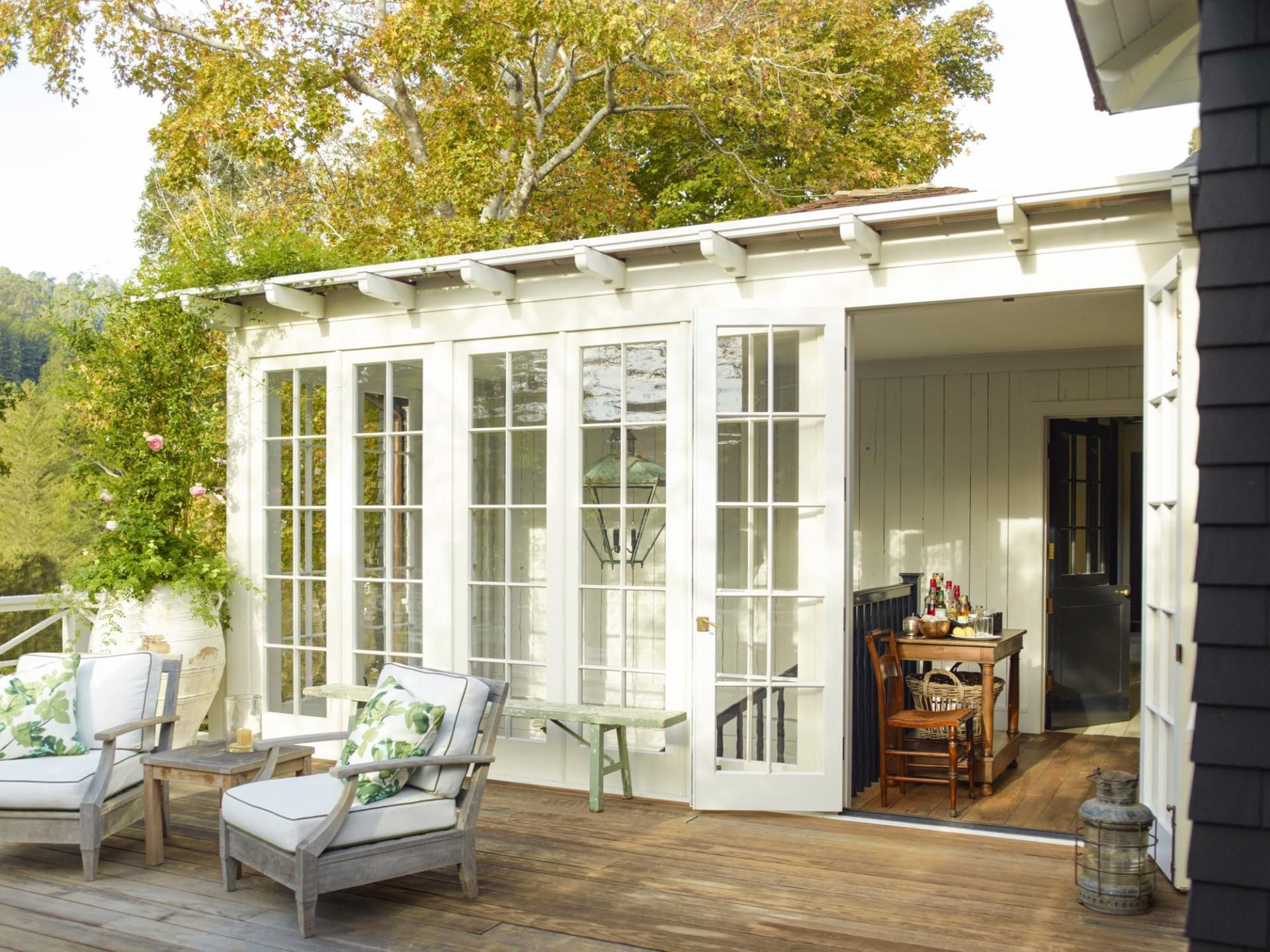 a mill valley home revisited porch house tours home river house rh pinterest com