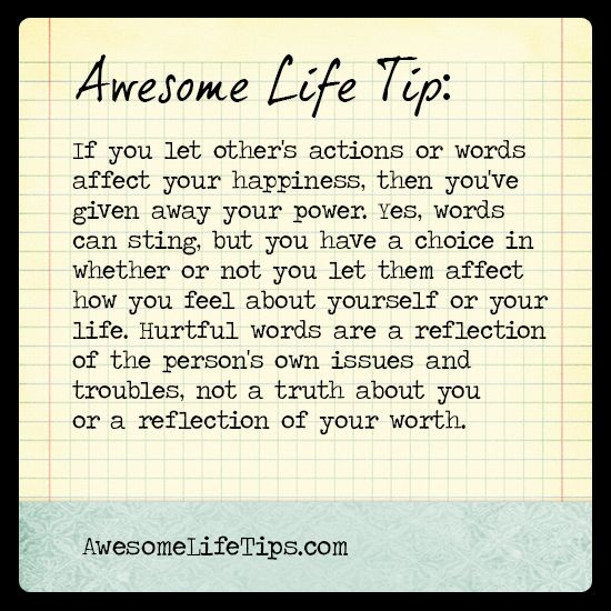 Awesome Life Tip Dont Give Away Your Power Wwwawesomelifetips