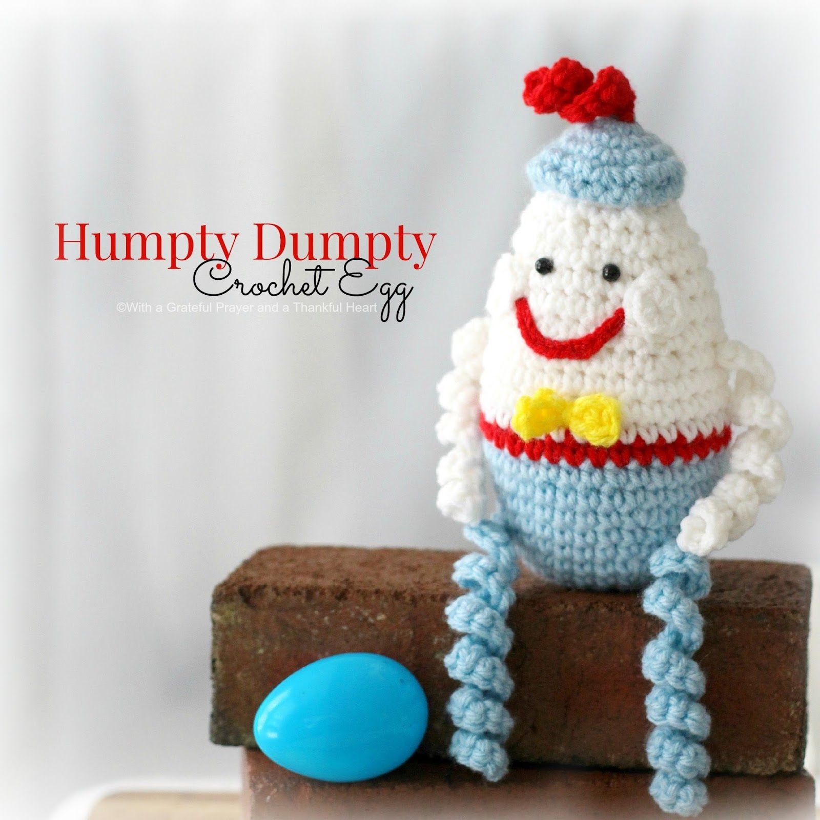 Crochet Humpty Dumpty Egg