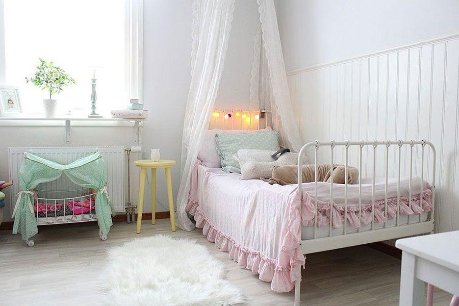 30 Camerette per Bambini in Stile Shabby Chic