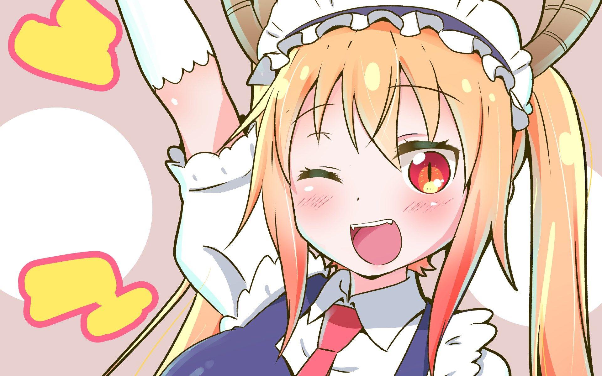 wallpaper desktop miss kobayashis dragon maid | Miss ...