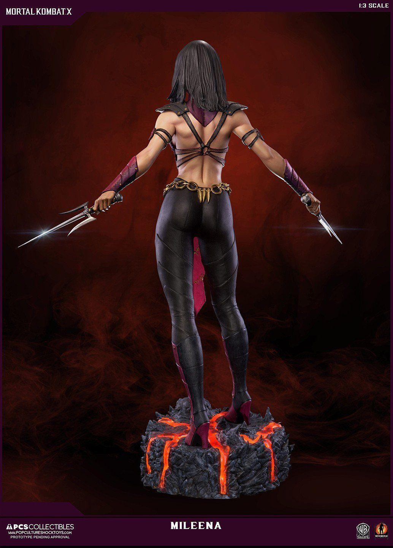 Sideshow Mortal Kombat Mileena MKX 1/3 Scale Statue by Pop