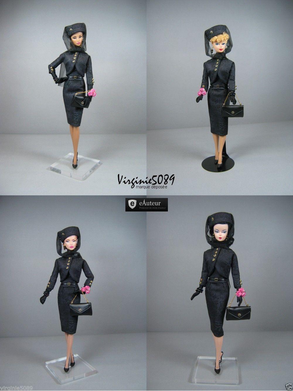 Tenue Outfit Accessoires Pour Fashion Royalty Barbie Silkstone Vintage 1400   eBay