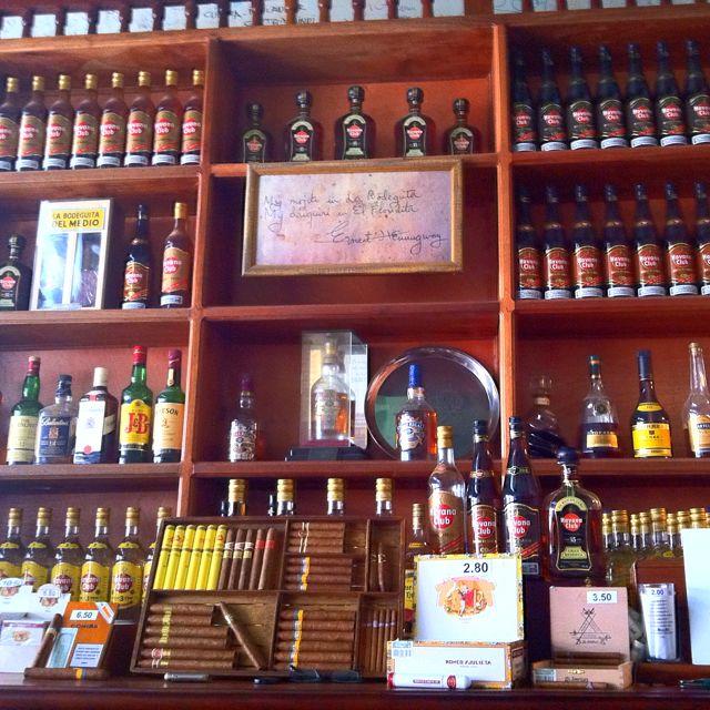 Bodeguita del medio. La Habana
