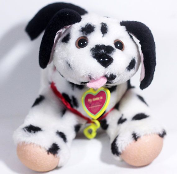 1990s Tuggles Walking Dog Dalmatian Dalmation Puppy Dog Walking