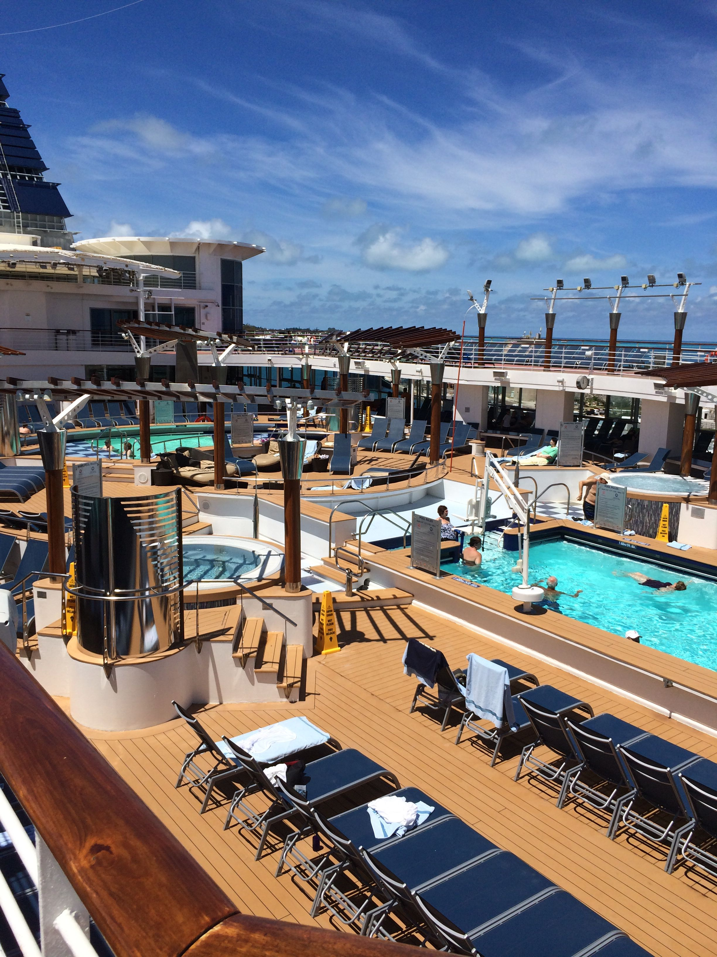 Pool Deck Aboard Celebrity Summit
