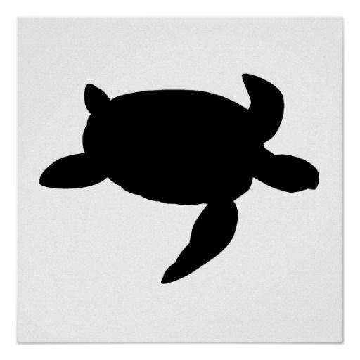 Sea Turtle Silhouette Posters Clipart Panda Free Clipart Images Turtle Silhouette Silhouette Art Animal Silhouette