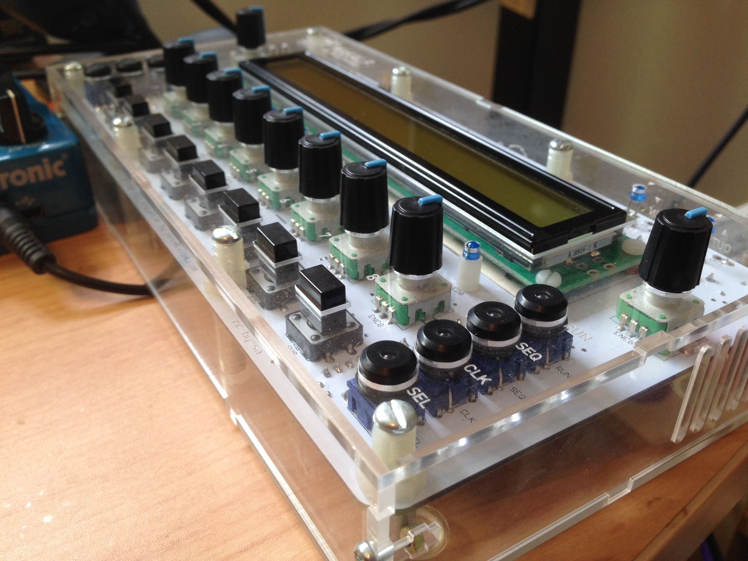 midialf is an step diy friendly midi cv sequencer x lcd midialf is an 8 step diy friendly midi cv sequencer 40x2 lcd 8