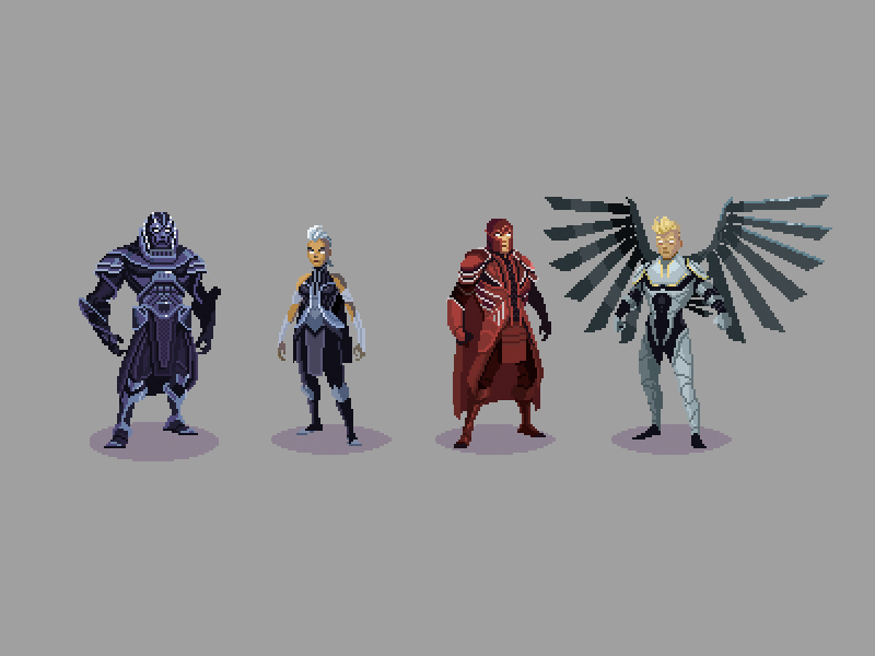 "Check out this Behance project ""XMen Apocalypse"