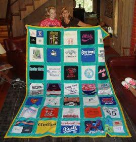Creative Chicks: Guest Blogger -- T-shirt Quilts