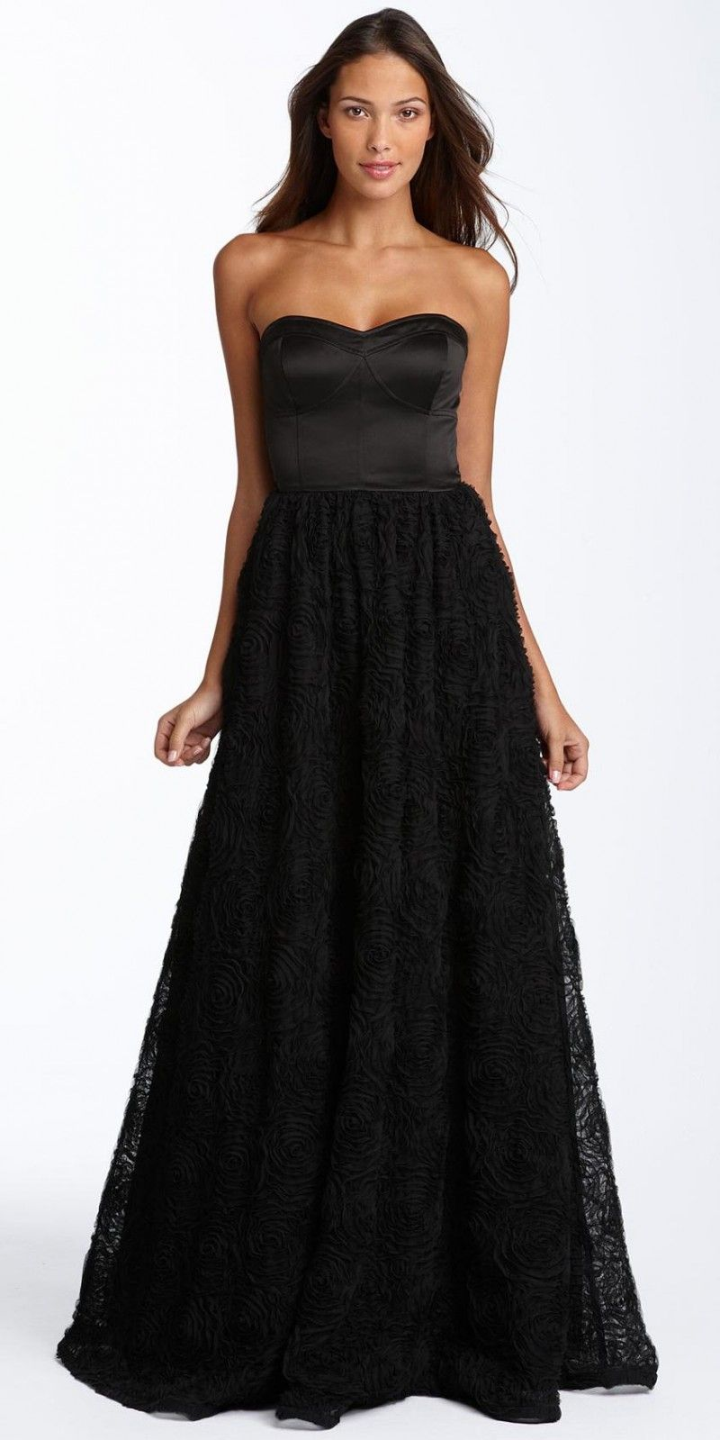 Long Black Evening Dress 2 | Tasteful Long Black Evening Dresses ...