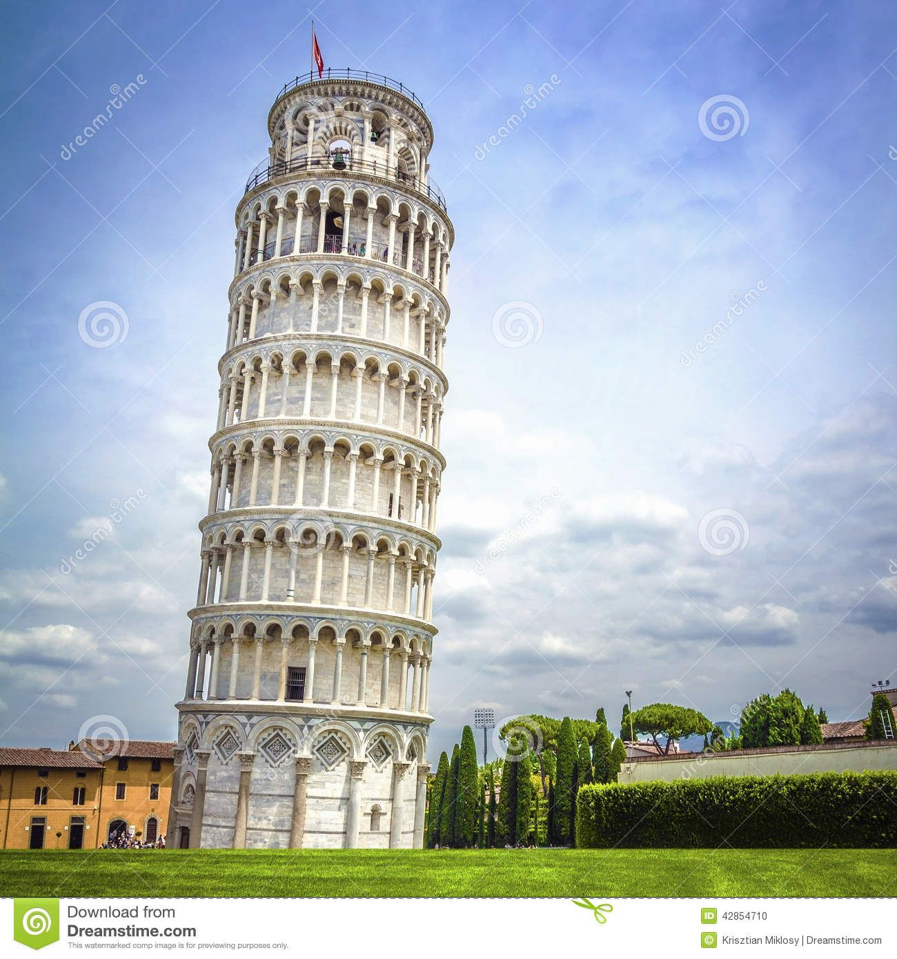 Leaning Tower Of Pisa, Italy Stock Photo - Image: 42854710