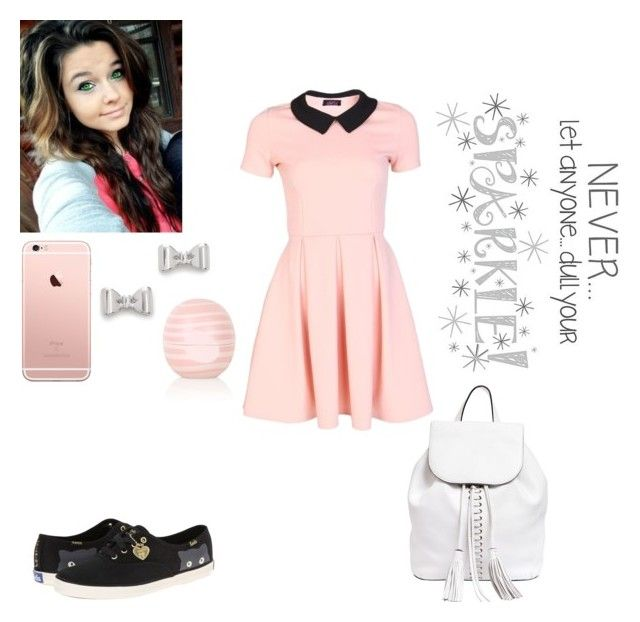 """""""PRP~Lily"""" by kahumphh-anons ❤ liked on Polyvore featuring Rebecca Minkoff, Marc by Marc Jacobs, Topshop, Keds and WallPops"""
