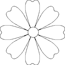 Image Result For Flower Outline Drawings Kids