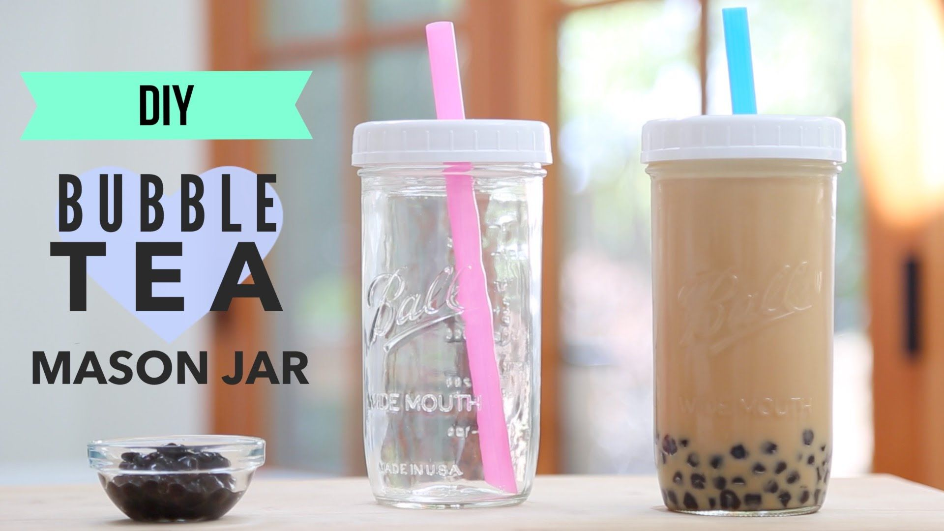 Like Your Bubble Tea To Go Make Your Own Reusable Bubble